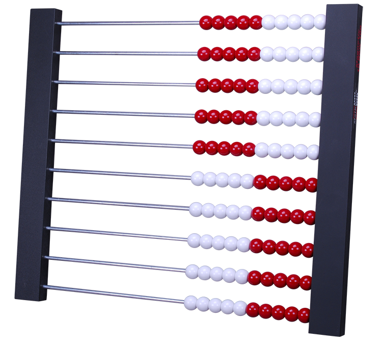 Magnetic MathRack 10 Row